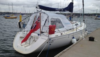 Habitent Mistral on Dufour 32 Classic